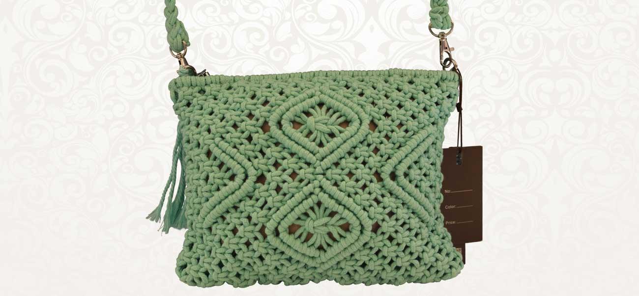 Χειροποίητη τσάντα ώμου Plexi - Lamazi store Προϊόντα υψηλής ποιότητας και  χρηστικά. fa83ac8f73e