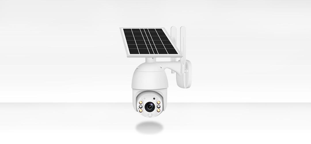 intelligent solar energy alert ptz camera