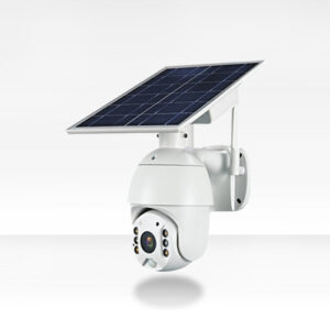 intelligent solar energy alert ptz camera